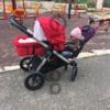 Продам коляску для двоих детей