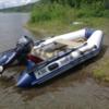 Продам лодку YAMARAN A300 c двигателем YAMAHA 15FMH