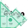 Продается квартира 2-ком 74 м² Потёмкина