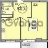Продается квартира 1-ком 41 м² Гидростроителей, 57