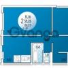 Продается квартира 2-ком 61.23 м² В.Гассия, 6