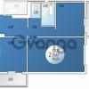 Продается квартира 2-ком 58.03 м² Кружевная, 14