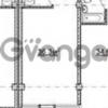 Продается квартира 2-ком 36.3 м² Волжская