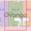 Продается квартира 1-ком 24 м² следопытов