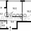 Продается квартира 2-ком 61 м² Заречная