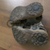 Детские кожаные сандалии