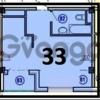 Продается квартира 1-ком 33 м² гончарова