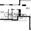 Продается квартира 2-ком 54 м² Жилянская