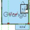 Продается квартира 1-ком 37.4 м² Виноградная
