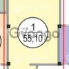 Продается квартира 3-ком 55.1 м² Фабрициуса