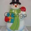 Производим новогодние объемные фигуры. Дед Мороз и Снегурочка