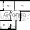 Продается квартира 3-ком 74 м² Заболотного Академика