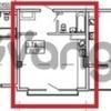 Продается квартира 1-ком 30.19 м² Крымская