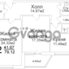 Продается квартира 2-ком 79.1 м² Чкалова ул, 2/27