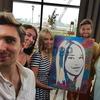 Оригинальный подарок - Портрет человека, который вы нарисуете вместе!