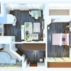 Продается квартира 1-ком 25 м² Островского