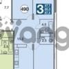 Продается квартира 3-ком 87 м²