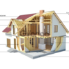 Дома  из SIP панелей - дома по канадской технологии .