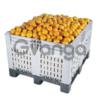 Пластиковые разборные контейнера, Б/У, перфорированные