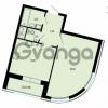 Продается квартира 1-ком 46.26 м² улица Жукова 12, метро Площадь Ленина