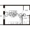 Продается квартира 1-ком 24.79 м² Комендантский проспект 53к 1, метро Комендантский проспект