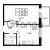 Продается квартира 1-ком 31.78 м² Комендантский проспект 53к 1, метро Комендантский проспект