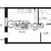 Продается квартира 1-ком 25.08 м² Комендантский проспект 53к 1, метро Комендантский проспект