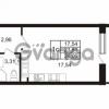 Продается квартира 1-ком 23.81 м² Комендантский проспект 53к 1, метро Комендантский проспект