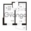 Продается квартира 1-ком 34.97 м² Кушелевская дорога 5к 4, метро Лесная