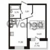 Продается квартира 1-ком 35.93 м² Кушелевская дорога 5к 5, метро Лесная