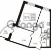 Продается квартира 2-ком 50.16 м² Кушелевская дорога 5к 5, метро Лесная
