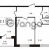 Продается квартира 2-ком 51.7 м² Кушелевская дорога 5к 5, метро Лесная