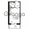 Продается квартира 1-ком 24.58 м² Советский проспект 42, метро Рыбацкое
