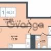 Продается квартира 1-ком 40 м² Дунайский проспект 7, метро Звёздная