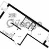 Продается квартира 2-ком 61.38 м² улица Шувалова 1, метро Девяткино