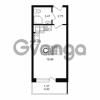 Продается квартира 1-ком 26.45 м² улица Шувалова 1, метро Девяткино