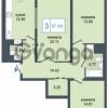 Продается квартира 3-ком 87 м² Дунайский проспект 7, метро Звёздная