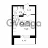Продается квартира 1-ком 21 м² Петровский бульвар 1, метро Девяткино