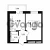 Продается квартира 1-ком 29 м² Петровский бульвар 1, метро Девяткино