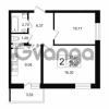Продается квартира 1-ком 46 м² Петровский бульвар 1, метро Девяткино