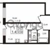 Продается квартира 1-ком 41.51 м² Европейский проспект 9к 1, метро Улица Дыбенко