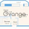 Продается квартира 1-ком 29 м² улица Николая Рубцова 11к 1, метро Парнас