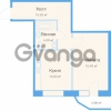 Продается квартира 1-ком 41 м² улица Фёдора Абрамова 18к 1, метро Парнас
