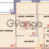 Продается квартира 2-ком 54 м² улица Ветеранов 1, метро Проспект Просвещения