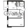 Продается квартира 2-ком 53.53 м² улица Пионерстроя 29, метро Проспект Ветеранов