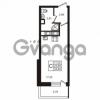 Продается квартира 1-ком 23.69 м² улица Пионерстроя 29, метро Проспект Ветеранов