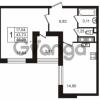 Продается квартира 1-ком 43.73 м² улица Пионерстроя 29, метро Проспект Ветеранов