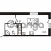 Продается квартира 1-ком 31.84 м² улица Пионерстроя 29, метро Проспект Ветеранов