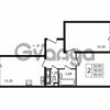 Продается квартира 2-ком 56.9 м² улица Пионерстроя 29, метро Проспект Ветеранов