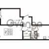 Продается квартира 2-ком 59.52 м² улица Пионерстроя 29, метро Проспект Ветеранов